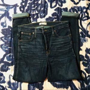 Madewell Jeans high waisted skinny